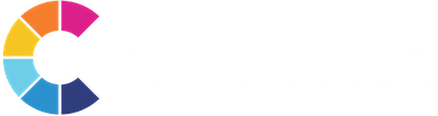 Creventa logo with white text